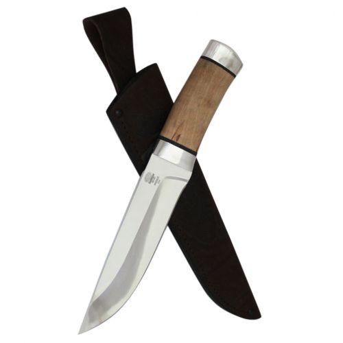 Нож охотничий, туристический «Алтай» Н4, сталь: ЭИ-107, рукоять: дюраль, орех