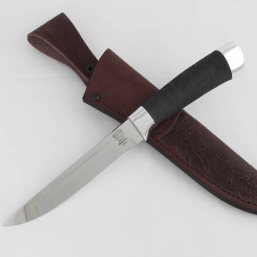 Нож охотничий, туристический «Сталкер» Н58, сталь ЭИ-107, рукоять: дюраль, микропора