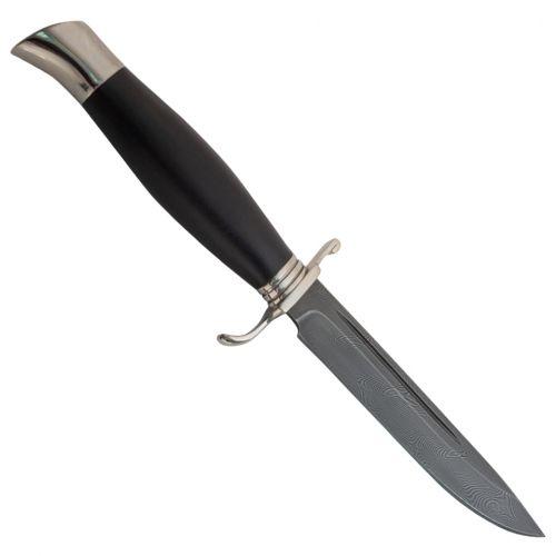 Нож охотничий, туристический «Разведчик» Н58С, сталь У10А-7ХНМ, рукоять: дюраль, граб