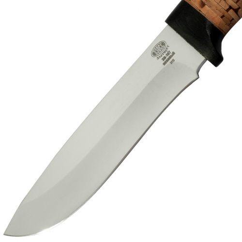 Нож охотничий, туристический «Александр II» Н6, сталь ЭИ-107, рукоять: текстолит, береста