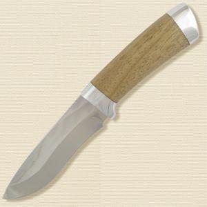 Нож охотничий, туристический «Александр II» Н6, сталь ЭИ-107, рукоять: дюраль, орех