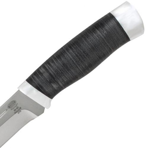 Нож охотничий, туристический «Викинг» Н78, сталь ЭИ-107, рукоять: дюраль, кожа