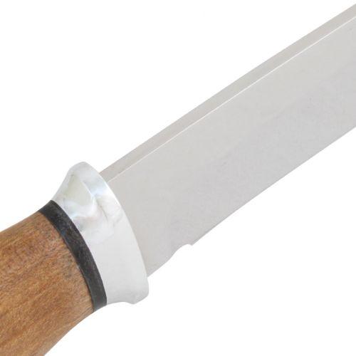 Нож охотничий, туристический «Казак» Н79, сталь ЭИ-107, рукоять: дюраль, орех