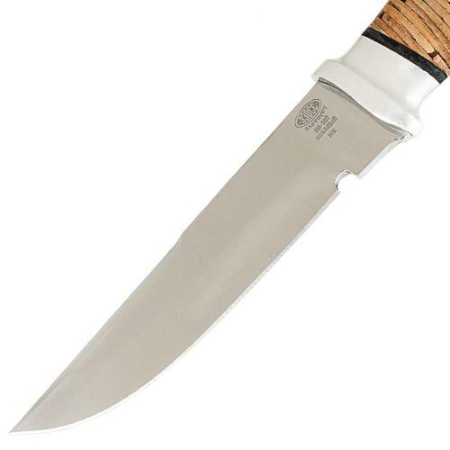 Нож охотничий, туристический «Лондон - спецназ» Н8, сталь ЭИ-107, рукоять: дюраль, береста