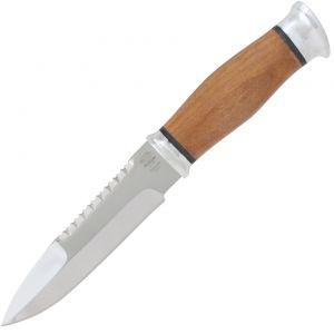Нож охотничий, туристический «Джунгли» Н82, сталь ЭИ-107, рукоять: дюраль, орех