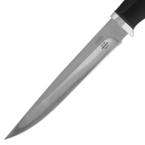 Нож охотничий, туристический «Батыр» НР12, сталь: ЭИ-107, рукоять: дюраль, граб