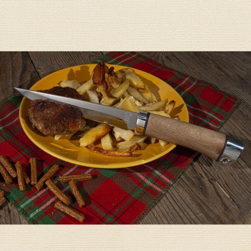 Нож охотничий, туристический «Батыр» НР12, сталь: ЭИ-107, рукоять: дюраль, орех