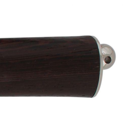 Нож охотничий, туристический «Джентльмен» НР19, сталь: ЭИ-107, рукоять: никель, венге
