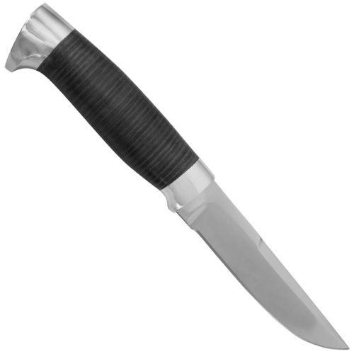 Нож охотничий, туристический «Полярник» НР2, сталь ЭИ-107, рукоять: дюраль, кожа