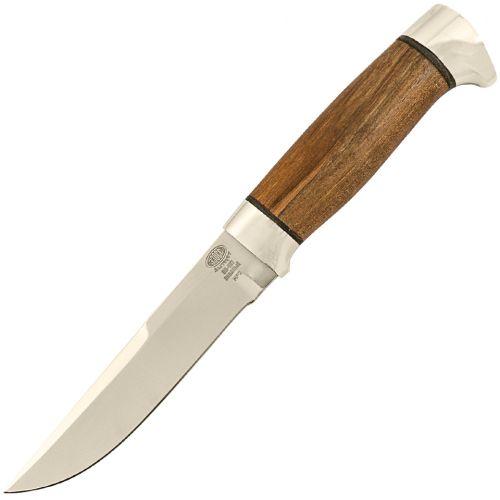 Нож охотничий, туристический «Полярник» НР2, сталь ЭИ-107, рукоять: дюраль, орех