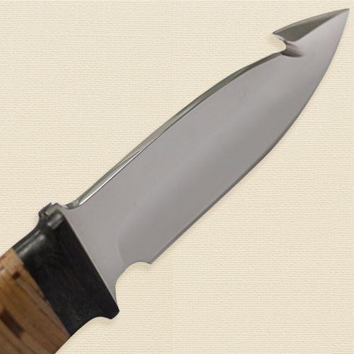 Нож охотничий, туристический «Рыболов» НР21, сталь ЭИ-107, рукоять: текстолит, береста