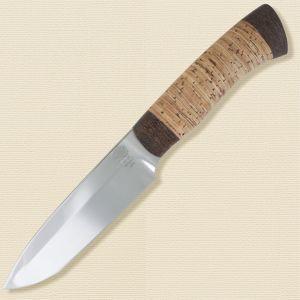 Нож туристический «Милорд» НР3, сталь ЭИ-107, рукоять: текстолит, береста наборная