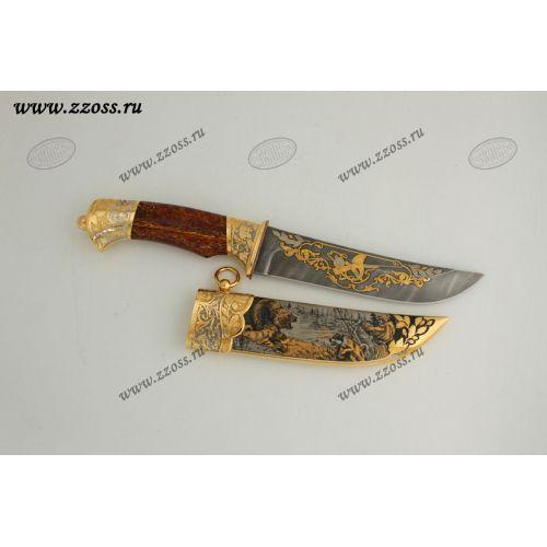 Нож украшенный «Сопки Маньчжурии» Н5