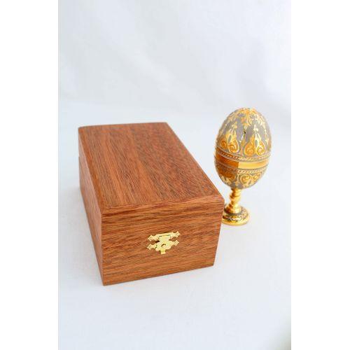 Коробка подарочная под яйцо-рюмку пасхальную