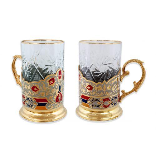 Набор чайный «Цветок граната»