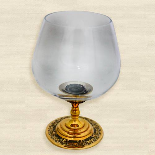 Набор коньячный со свечой «Упоительный вечер»